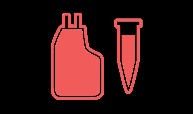 Standard odber a tkanivo pupocnika