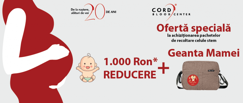 oferta cord blood center baby expo aprilie 2018
