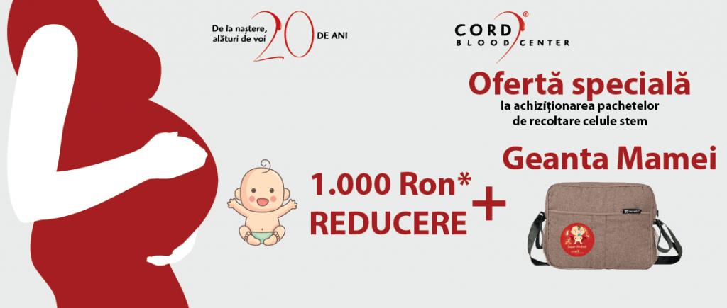 oferta cord blood center baby expo aprilie 2018